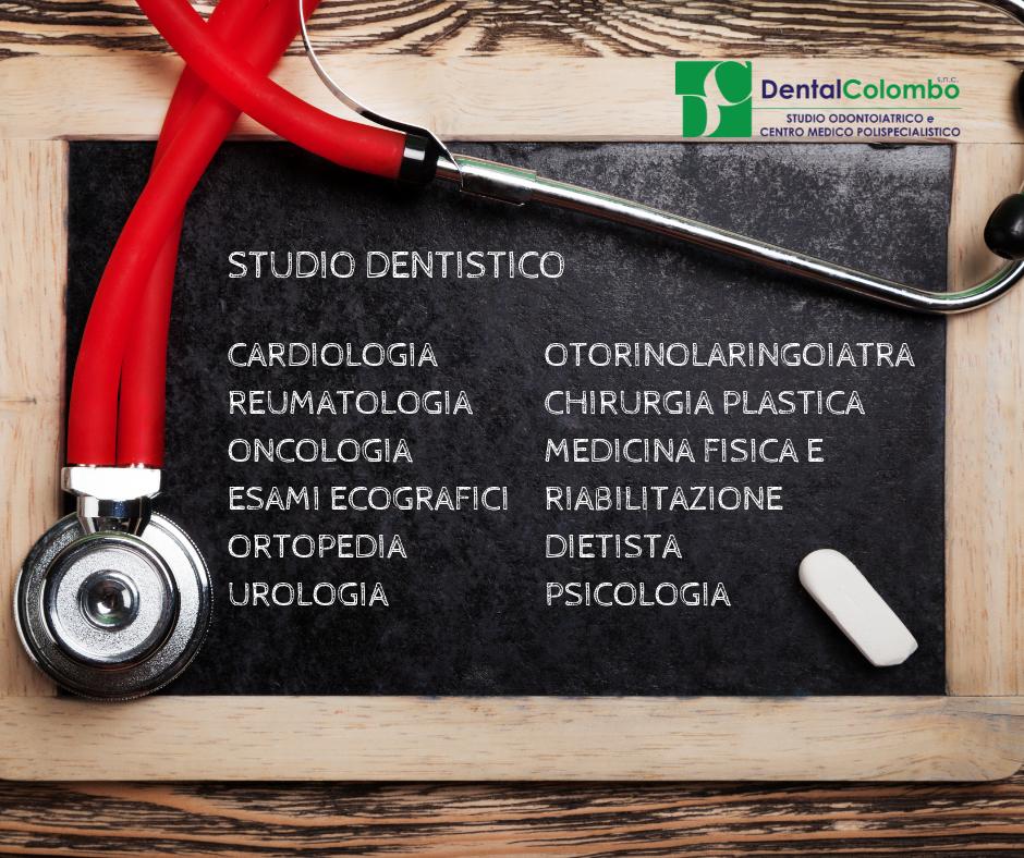 Dental Colombo a Sartirana Lomellina – le specialità mediche